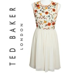 Ted Baker London Fit-N-Flare Feminine Dress